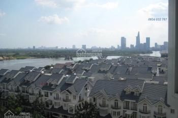Cho thuê Saigon Pearl 2PN 2WC full nội thất đẹp, view sông giá 17 tr/th bao phí - LH 0934032767