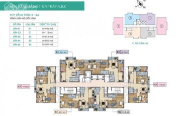Chính chủ bán nhanh căn hộ chung cư Xuân Phương Tasco, căn 1105, dt 115m2, bán 20tr/m2, 0981129026