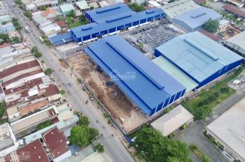 Kho xưởng mới xây, mặt tiền Lê Văn Khương, Quận 12. DTKV: 4.000m2 (DT xưởng 2.200m2)