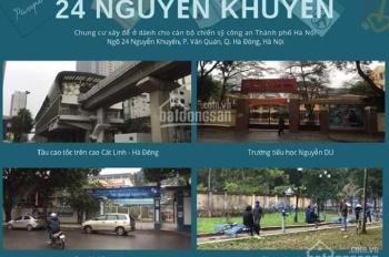 Không đủ tiền vào đợt ba ( tháng 8) nên bán căn 1007 dự án nhà ở chính sách 24 Ng Khuyến.