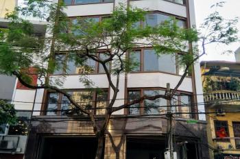Chính chủ cho thuê nhà 7 tầng ngã 4 mặt phố Trần Quý Kiên (190m2x7, MT 13m). Giá thuê 60-90tr/190m2