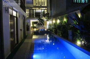 Bán biệt thự đẹp đường xe hơi Nguyễn Văn Hưởng Thảo Điền, Q2, DT 359m =14x25.5m hồ bơi gara*47 Tỷ