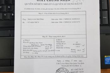 Bán nhà mặt phố khu chợ vải Phạm Phú Thứ- Phan Sào Nam– P.11, Q.Tân Bình