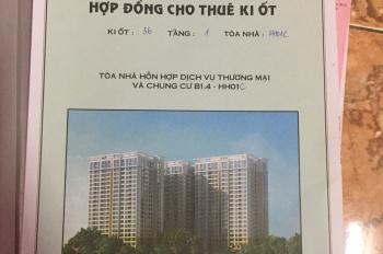 Chính chủ bán kiot số 36 cc HH01C Thanh Hà, Hà Đông, kinh doanh tốt