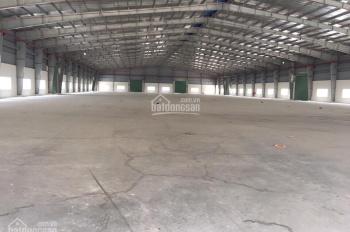 Cho thuê xưởng gần KCN Thịnh Phát, Long An. DT 20.000m2