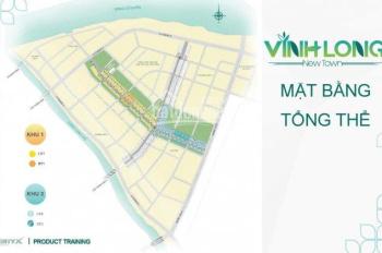 cần bán gấp lô đất ngay trung tâm thành phố vĩnh long sổ đỏ trao tay LH:0969.433.890