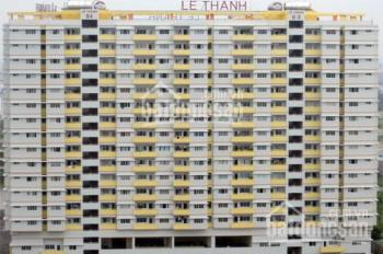 Cho thuê căn hộ chung cư Lê Thành B Q. Bình Tân, DT 124m2, 3 phòng ngủ, nhà đẹp, giá thuê 6.5tr/th