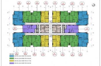 Nhượng lại căn hộ 1705 Thăng Long Capital, giá gốc 16,2 tr/m2