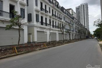 Cho thuê biệt thự shophouse khu Ngoại Giao Đoàn chỉ 40tr/th DT 120m2/1 sàn, nhà 4T vỉa hè rộng 4m