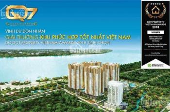Kẹt tiền bán lỗ ch 2pn dự án Q7 Saigon Riverside view đẹp full nội thất, giá tốt