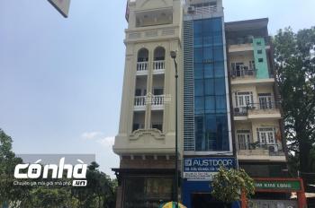 Tòa nhà văn phòng cho thuê mặt tiền đường Bạch Đằng, phường 2, quận Tân Bình, 5x22m hầm 5 lầu 700m2