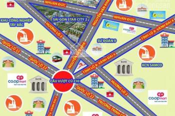 Bán đất MT Nguyễn Văn Khạ 5x16 giá 512tr SHR đường nhựa 12m cách UBND Củ Chi chỉ 500m LH 0908636348