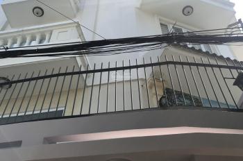 Bán nhà HẺM XE HƠI 5m Thống Nhất P.11. Nhà 4 tầng. Giá chỉ 5.3 tỷ. LH 0888444589