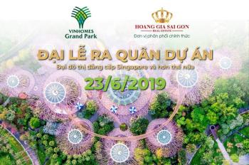 Mở bán dự án Vinhomes Grand Park Q9 - Đại đô thị lớn nhất TP.HCM, giá từ 30 triệu/m2, LH 0901364109