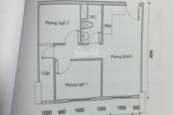 Chỉ còn duy nhất căn 51m2 2PN Topaz Home Q12 chỉ 898tr bao sang tên