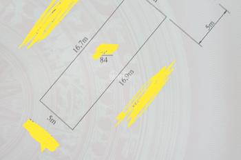 Bán 84m2 đất mặt đường Cát Vũ, Tràng Cát, Hải An, Hải Phòng. LH 0933712455