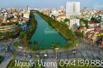Bán lô đất 65m2 vuông vắn, mặt phố đi bộ Thế Lữ, dự án chỉnh trang sông Tam Bạc. LH 0914.139.888