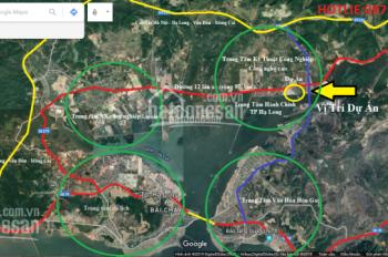Bán đất nền ven biển Hạ Long, view vịnh Cửa Lục, giá chỉ 7,5 triệu/m2