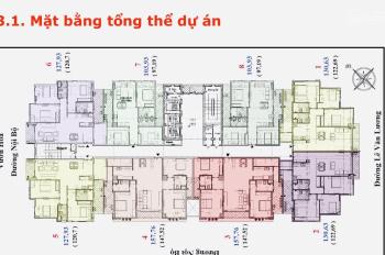 Cần bán căn 05 - 121m2 tòa Golden Palace Lê Văn Lương. LH xem nhà: 0943 969 963