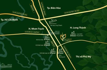 Bán đất DT 130 m2 chính chủ mặt tiền đường. Gần KCN Phước Bình, sân bay Long Thành. LH 0938277562
