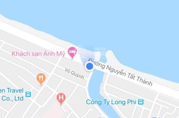 Bán đất mặt tiền Nguyễn Tất Thành, Đà Nẵng, DT 122.5m2, giá 9.5 tỷ