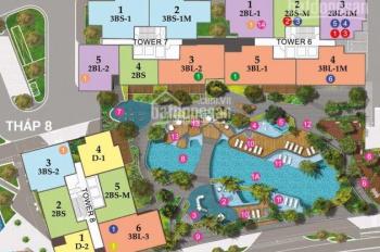 Cần thu hồi vốn bán gấp CH Duplex The View-Riviera Point, chuẩn bị nhận nhà LH: 0909.333.605