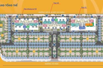 0975 99 33 92 chính chủ bán 100tr/m2 lô shophouse, biệt thự DT 93.5m2 dự án The Terra An Hưng