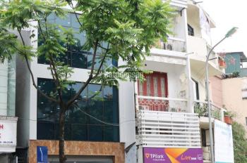 Cho thuê nhà mặt phố Nguyễn Thái Học mới xây, diện tích 60m,4 tầng 1 tum,mặt tiền 6m.lh :0981917999