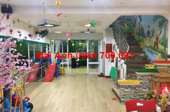 Sang nhượng trường mầm non 4 tầng mặt phố Nguyễn Ngọc Nại, full đồ, hoạt động tốt, giá 290 triệu