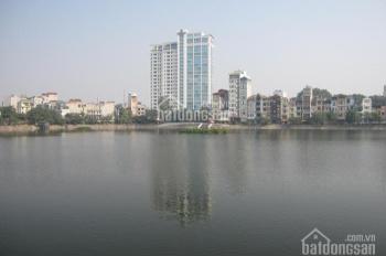 Bán nhà mặt hồ Xã Đàn, Đặng Văn Ngữ, DT 60m2, 5 tầng, mặt tiền 16m, giá 32,8 tỷ, LH: 0912413829