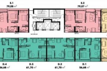 Bán gấp căn hộ Diamond Lotus Riverside tầng 21, block A, diện tích 57m2 giá tốt. LH 0909 671 411
