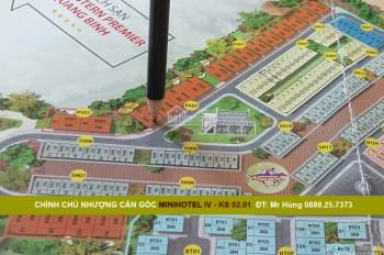 Nhượng căn góc khách sạn IV KS 02.01, MT khách sạn 5 sao FLC Quảng Bình