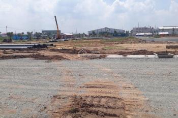 Bán gấp 2 lô liền kề mặt tiền đường 45m KCN Tân Đức Hải Sơn, Đức Hòa, chỉ 1 tỷ/nền, công chứng ngay