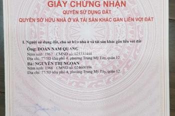 Bán căn hộ đường Phạm Viết Chánh, Quận Bình Thạnh LH 0933 918388 mr Trung