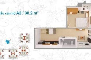 Cho thuê căn hộ 1PN, diện tích 38,2m2, 3tr2/tháng. Chung cư Lê Thành, Bình Tân