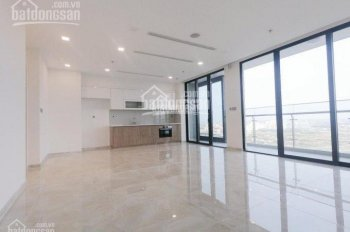 Cho thuê gấp CH Vinhomes 4PN nội thất cơ bản lầu 18 view đẹp nhà mới, 0977771919