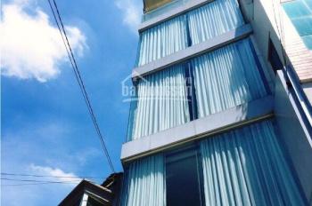 Bán nhà mặt tiền góc Cách Mạng Tháng 8 - Rạch Bùng Binh, Q3, (4.5x14m) 4 lầu TN: 55tr, giá: 18 tỷ