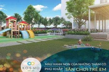 Bán gấp 3 căn ngoại giao CC Kosmo Tây Hồ, DT 77m2 - 100m2, sắp nhận nhà, view Hồ Tây, giá rẻ nhất