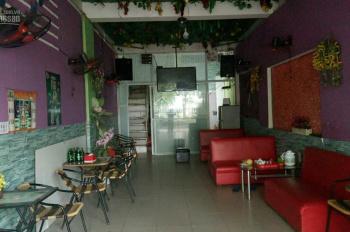 Sang nhượng quán cafe karaoke hát cho nhau nghe DT 50 m2x 2 tầng mặt tiền 4 m Đường Lê Trọng Tấn Q.
