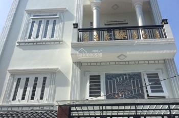 Nhà đẹp 1 lửng 2 lầu có gara để xe KP4 (Trần Thị Hè) P. Hiệp Thành, Q12