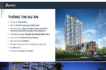 Gia đình định cư tôi bán căn hộ 3PN 110m2 Ascent tầng giữa giá gốc, không chênh lệch, LH 0899247026