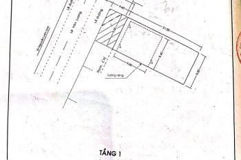 Nhà mặt tiền số 575 Lê Văn Lương, p.Tân Phong, quận 7. 3,5x23m