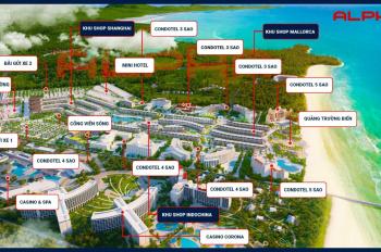 Bán khu shop Shanghai-Grandworld Phú Quốc vị trí có 1-0-2 đẹp nhất của dự án Liền kề Casino Corona
