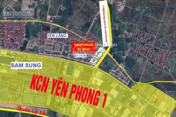 Bán gấp lô ngoại giao shophouse An Bình - Ấp Đồn - Yên Phong, giá rẻ bất ngờ, LH: O90.345.8386