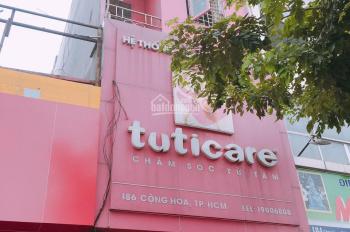 Cho thuê nhà MT 186 Cộng Hoà, phường 12, Quận Tân Bình