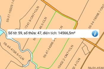 Bán 14566.5m2 đất xã Xuân Tây, huyện Cẩm Mỹ, có thổ cư đất bằng phẳng đẹp, giá bán 280 triệu/sào