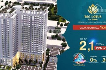 Chỉ từ 600 tr được sở hữu CH cao cấp TSG Sài Đồng ngay cạnh Vinhomes Riverside