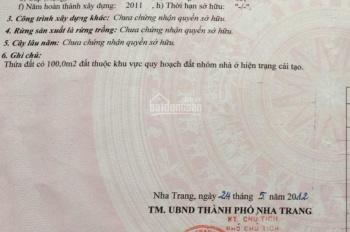 Bán nhà MT Điện Biên Phủ, Vĩnh Hoà, Nha Trang, DT 100m2 - giá 6 tỷ 550tr