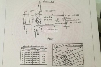 Bán nhà hẻm đường Vườn Chuối, P4, Q3, 3x9m, 2 lầu, giá 4,970 tỷ LH 0938791899