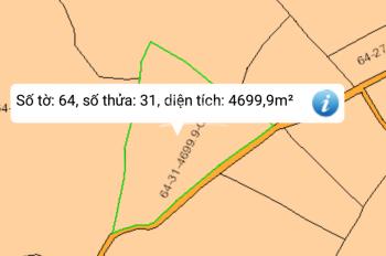 Bán 4699.9m2 đất Xuân Tây, cách đường nhựa 200m, xe hơi xe tải vào thoải mái